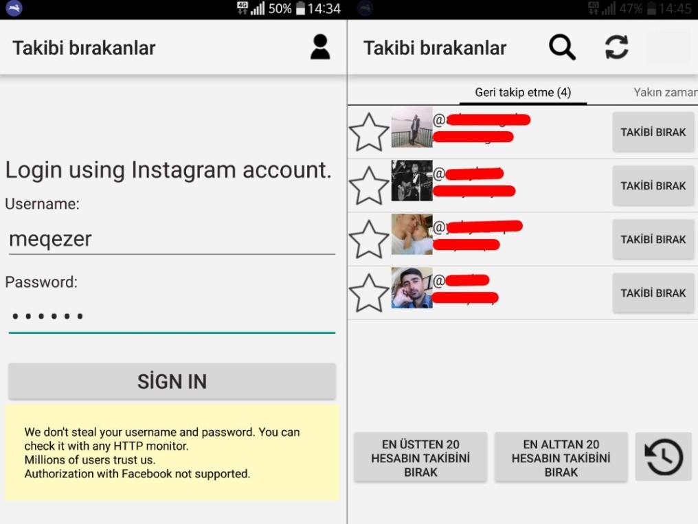 Repost+ Instagram Profili Analizi