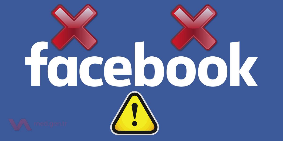Facebook Bağlanamama Sorunu – Giriş Yapılmıyor!