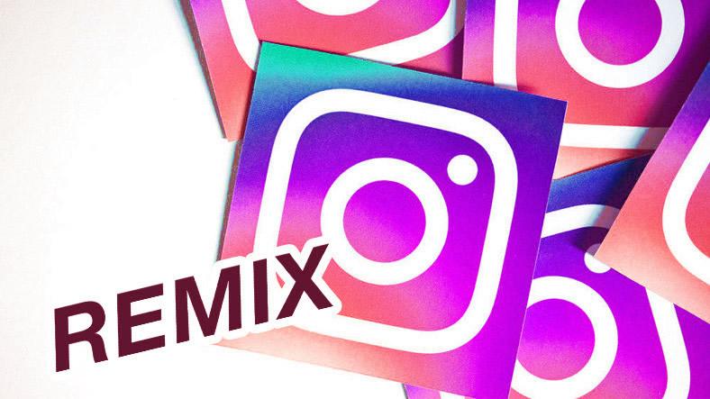 Instagramda Hikaye Paylaşımına Resimli Yanıt Verme (Remix)