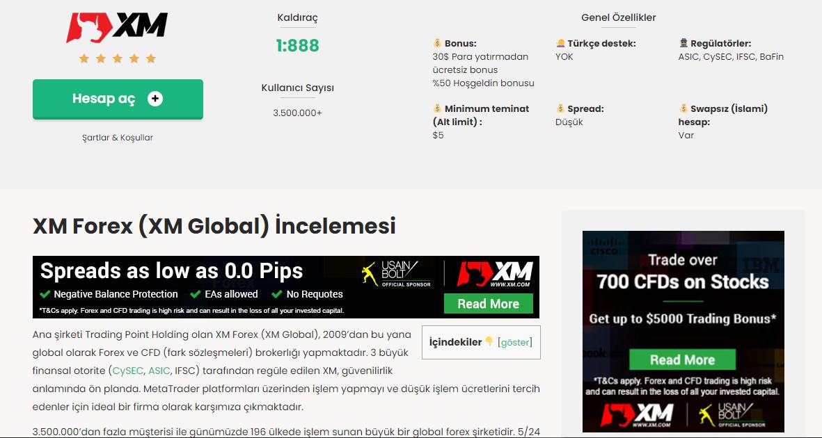 XM Forex (XM Global) Nasıl Bir Şirket?